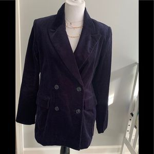 NWT Gap corduroy double breasted blazer